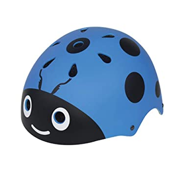Children's Helmet, Ladybug Helmet, Roller Skating Helmet, Children's Bicycle Helmet, Helmet Summer, -Blue : Sports & Outdoors