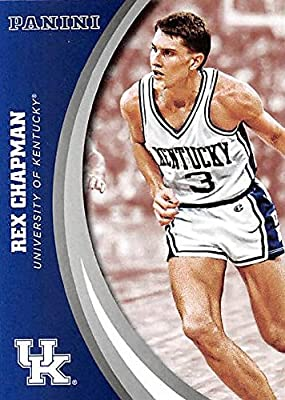 Rex Chapman basketball card (Kentucky Wildcats) 2016 Panini Team Collection #17
