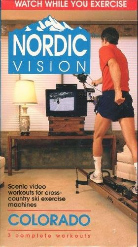 Nordic Vision Cross-Country Ski Exercise Machine Workout: Colorado