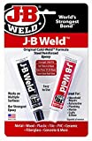 J-B Weld 8265-S 12 Pack Original Steel Reinforced Epoxy Twin Pack, Dark Grey