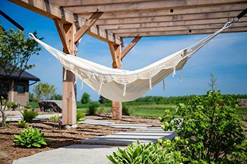 OKSLO Brazilian style hammock - single (natural with ()