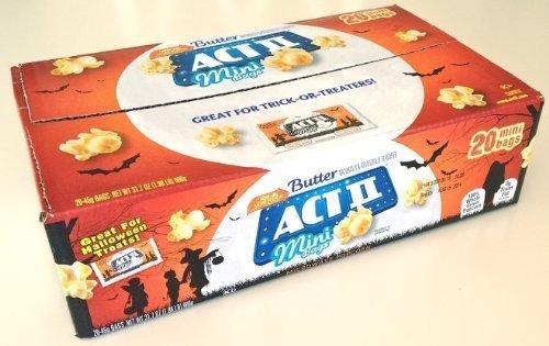 Act II Microondas mantequilla Sabor palomitas de maíz – 20 ...