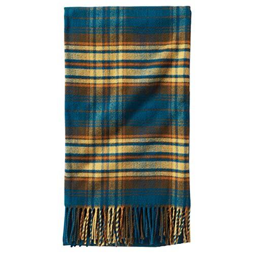 - Pendleton Plaid 5th Avenue Wool Throw Blanket, Everett Plaid, One Size