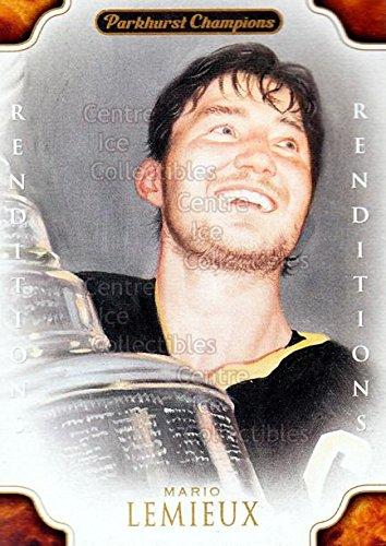 (CI) Mario Lemieux, Stanley Cup Hockey Card 2011-12 Parkhurst Champions (base) 134 Mario Lemieux, Stanley Cup