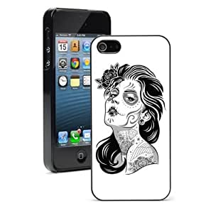For Apple iPhone 4 4S Hard Case Cover Day of the Dead Girl -01