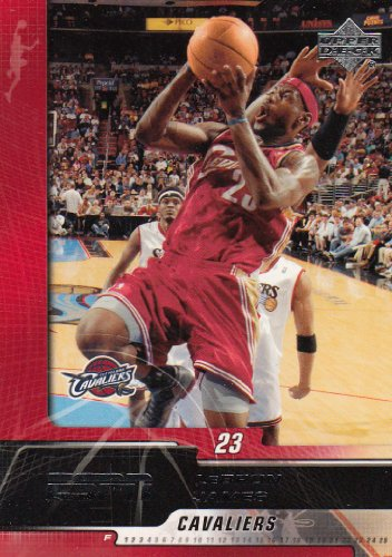 SPN Basketball Cards Complete Set (90 cards including Lebron James,Kobe Bryant,Dwyane Wade +more) ()