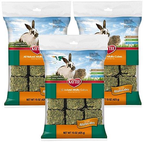 Kaytee Alfalfa Cubes, 15-Ounce (3 Pack)