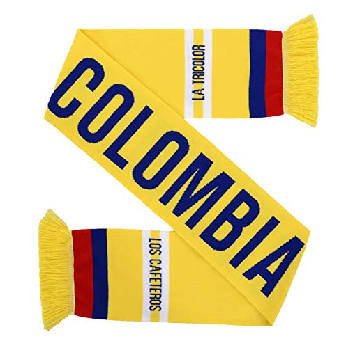Colombia Soccer HD Knit Scarf