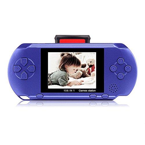 Handheld Portable Christmas Halloween Birthday Children Blue