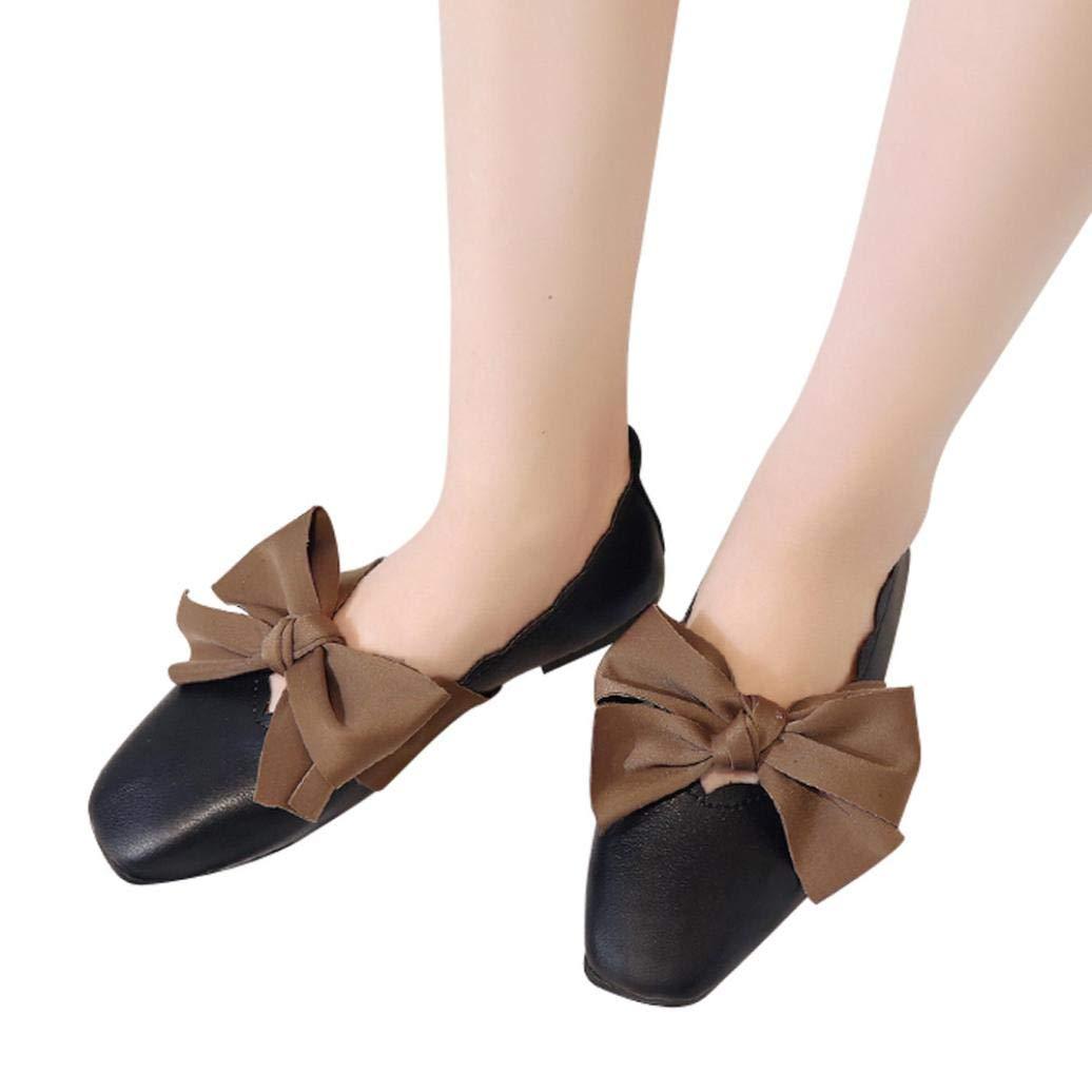 Bailarinas mujer, ❤️Sonnena Zapatos planos de mujer Primavera verano Zapatos deportivos sin cordones Zapatillas de playa casual Zapatos al aire libre