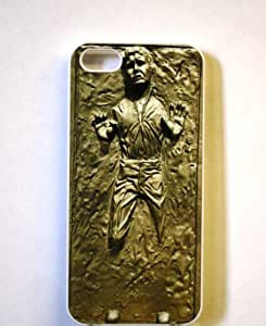 (320wi4) Han Solo Frozen in Carbonite Apple iPhone 4 / 4S White Case STAR WARS