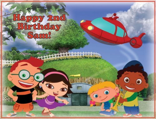 (Single Source Party Supply - Little Einsteins Edible Icing Image #4-8.0