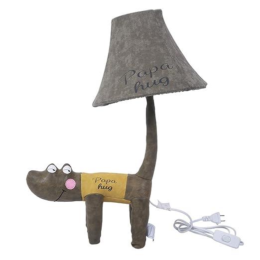 LSJCR Lámpara De Mesa Infantil De Cocodrilo Animal De Dibujos ...