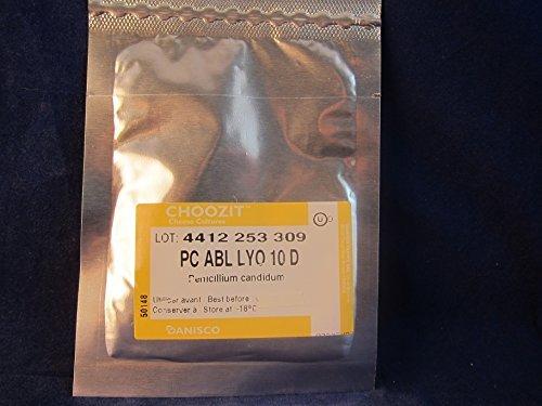 Danisco Penicillium Candidum, ABL to Make Camembert & Brie Cheese, 10 doses ()