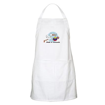 CafePress diseño de cigüeña bebé Venezuela delantal – delantal de cocina con bolsillos, delantal de
