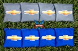 Victory Tailgate Custom Chevy Bowtie Ver 2 Cornhole Bag Set (corn Filled)