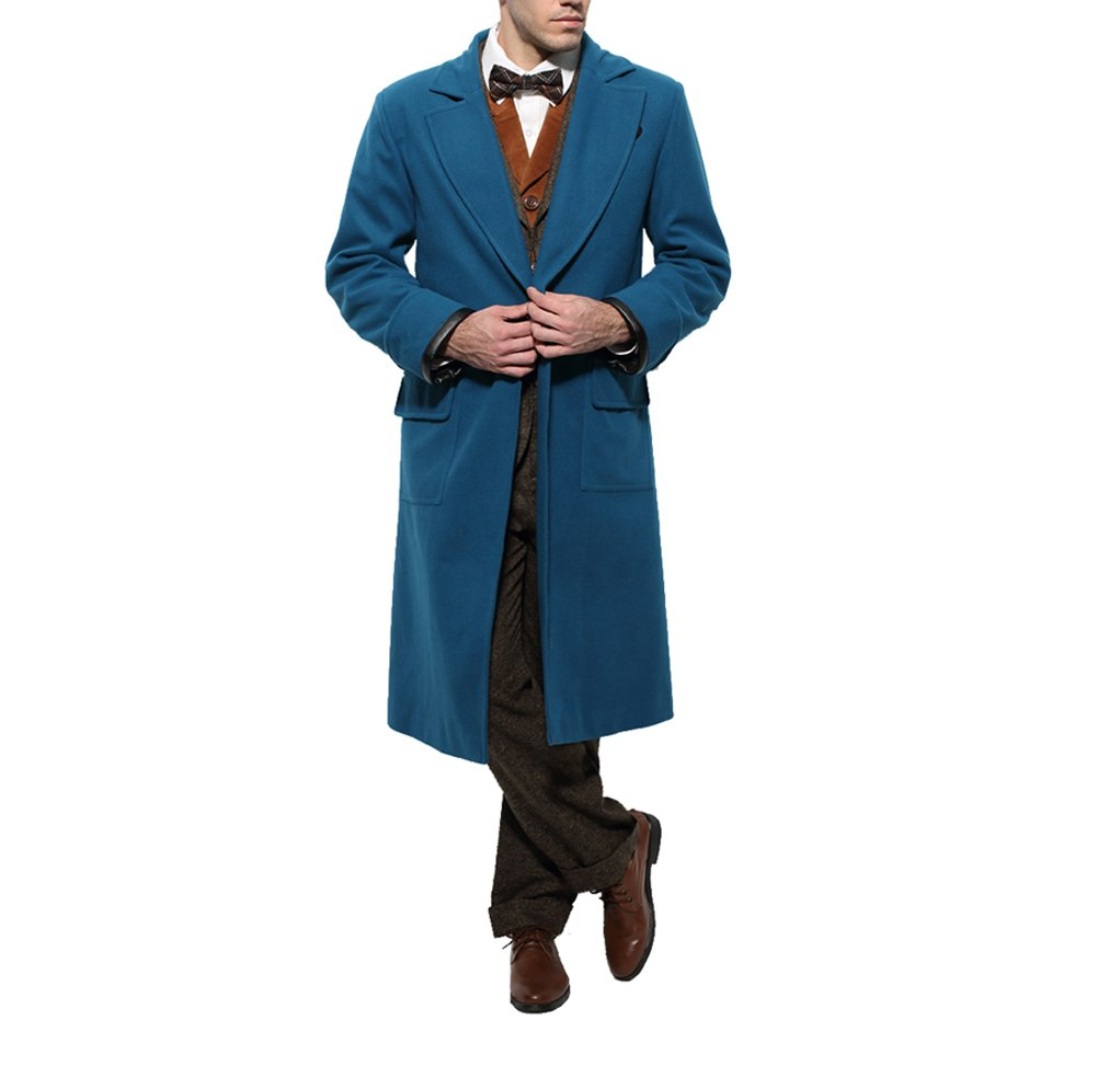Ice Dream Winter Suits Men's Clothing Business Blazer Outfit Party Halloween Costume Made (Man-S)