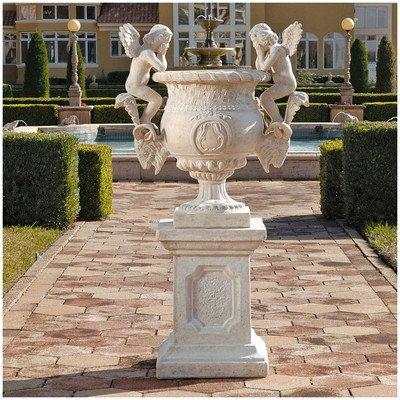 Design Toscano Versailles Cherub Urn and (Cherub Urn)