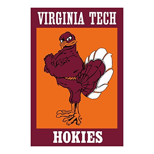 Evergreen Enterprises Virginia Tech Hokie Bird Applique House Flag - 28
