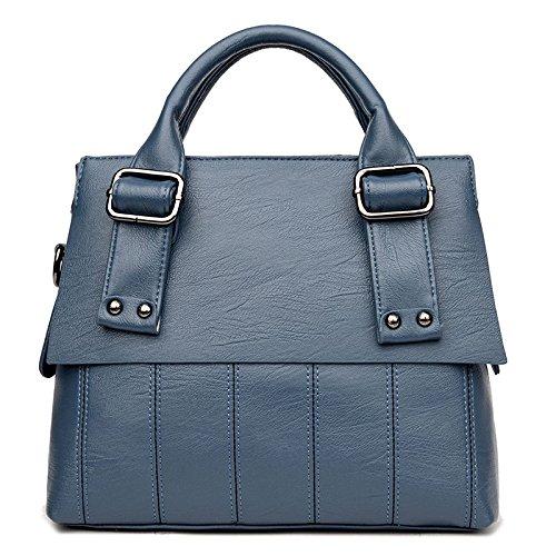 Paquet De Sac Cousant Diagonale à De D'épaule Mode De Main De Blue La Femmes Tempérament rwR5xzqrn