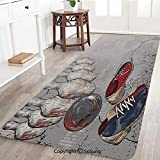 Bowling Party Decorations Rug Runner,Bowling