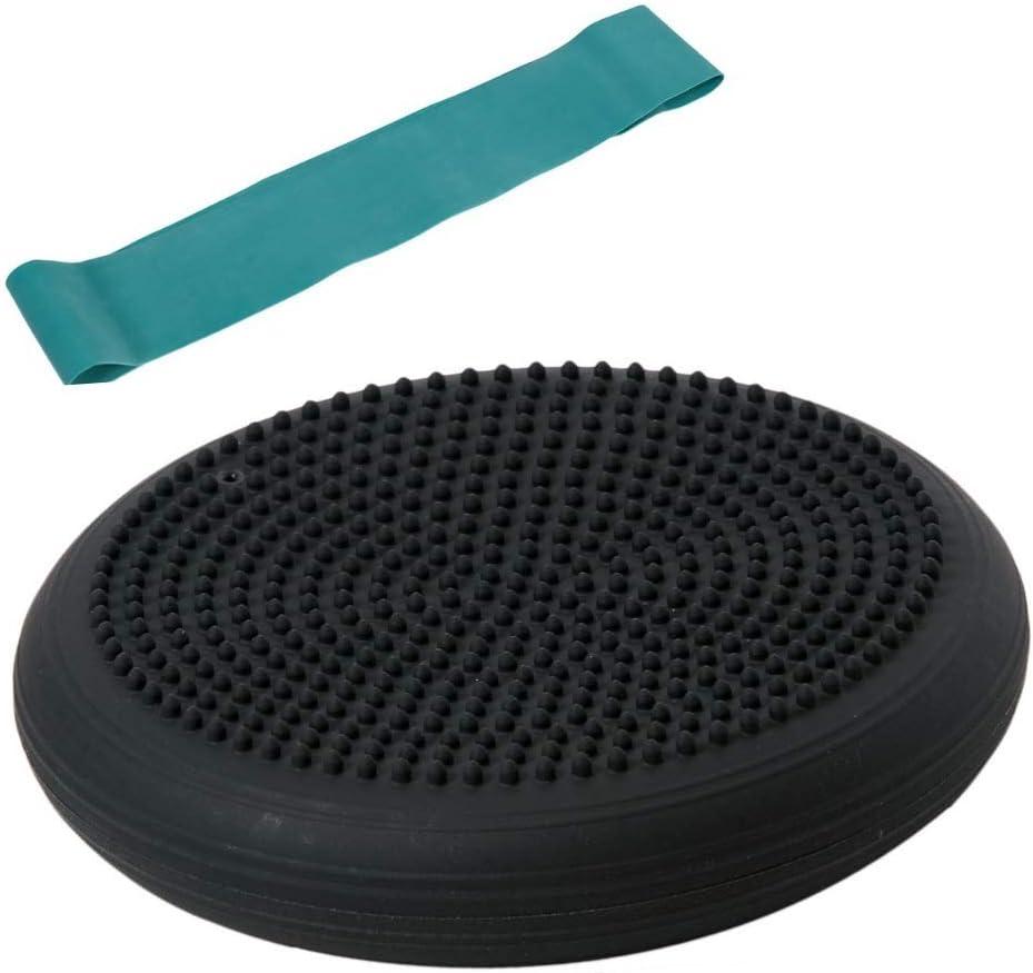 gr/ün schwarz und Theragym Loop Miniband mittel Togu Set Dynair Ballkissen Senso 33cm