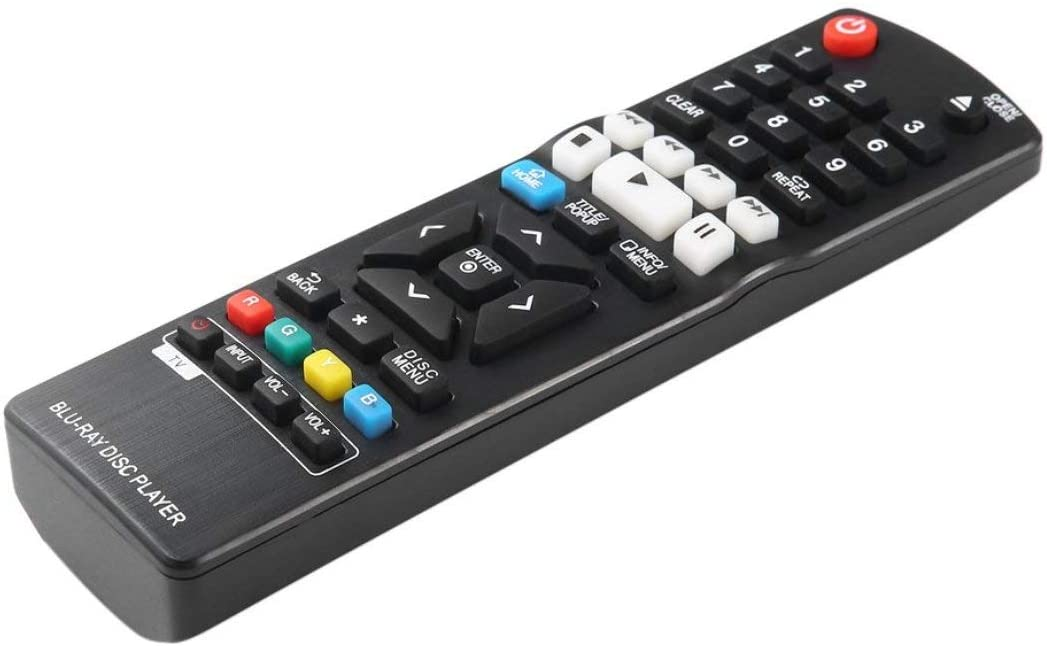 Funnyrunstore Universal Smart BluRay Disc DVD Player TV Control Remoto reemplazo para LG AKB73735801 BP330 BP530 BP540 BPM53: Amazon.es: Electrónica