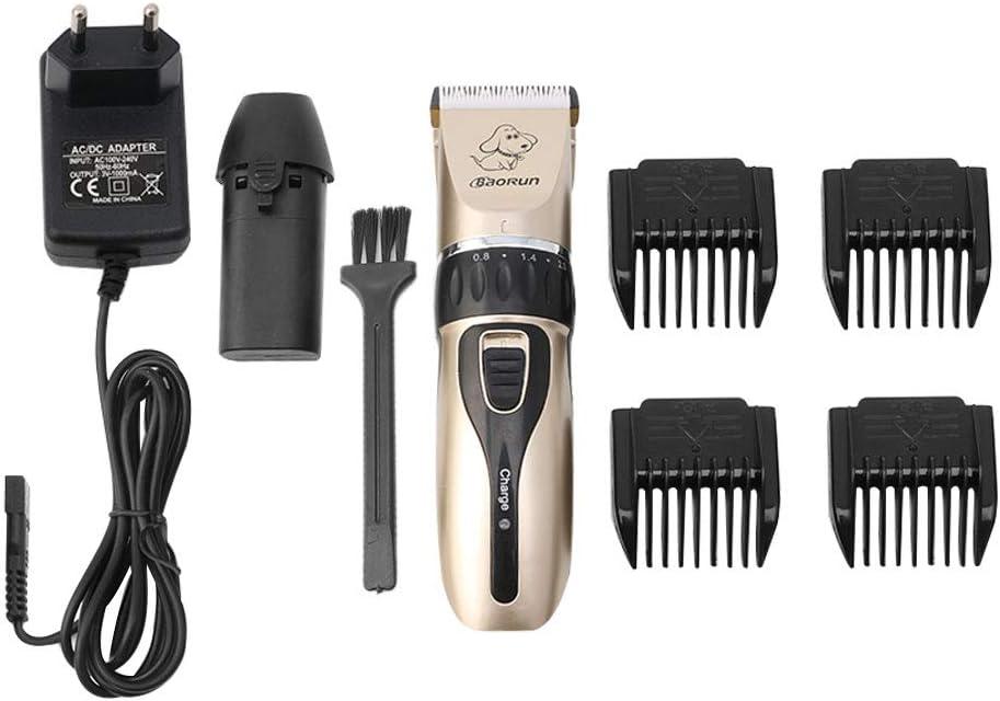 Lyguy - Cortapelos para Mascotas, peines, Cepillo de Limpieza, Adaptador, Tijeras eléctricas Profesionales para cortapelos de Perro: Amazon.es: Hogar