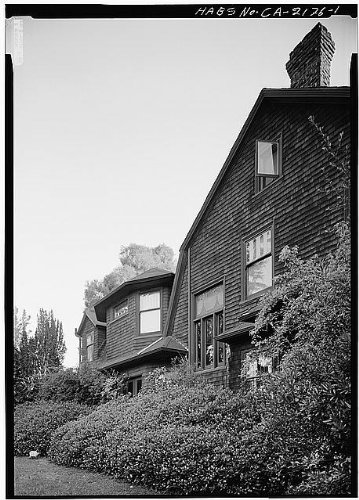 HistoricalFindings Photo: Dr. W. F. Durand House,623 Cabrillo Avenue,Stanford,Santa Clara County,CA,HABS