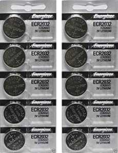 Energizer CR2032 3 Volt Lithium Coin Battery In Original Packaging
