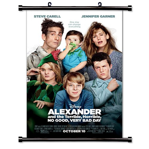 Alexander and the Terrible, Horrible, No Good, Very Bad Day Movie Fabric Wall Scroll Poster (16 x 24) Inches