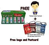 Poysian Menthol Nasal Inhaler + Thailand Hand Made Bag From Thailand (Pack of 6+Gift)