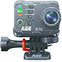 AEE Technology S70 Waterproof Video Camera with 10.0x Digital Zoom and 2.0-Inch LCD (Black)