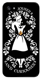 Andre-case Color.Dream Small Black and White Mixed Colors Alice in Wonderland Hard Plastic Back case cover rE9tC5H2ONU cell phone protective case cover for iPhone 6 4.7