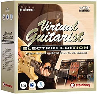 Virtual guitarist electric edition by steinberg rhythm guitar.