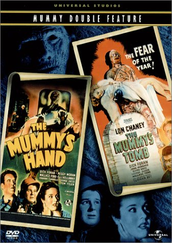 DVD : The Mummy's Hand / The Mummy's Tomb (Full Frame, , Dolby, Dubbed)