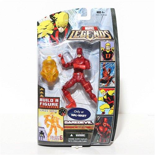 Marvel Legends Exclusive Nemesis Build-A-Figure Wave Action Figure Daredevil ...