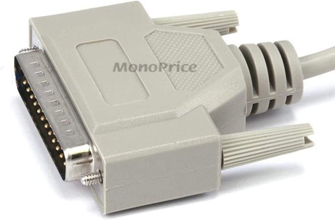 101587 Monoprice 101587 50-Feet DB25 M//M Molded Cable