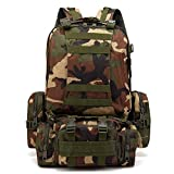 Black Hawk Commandos Tactical Military Backpack Outdoor Hiking Camping Mountain Climbing Combined