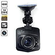Mengshen® HD 1080P 5.0 Mega CMOS 12MP Professional Full HD Car Black Box Car Dvr Car Camera Recorder voiture avec Grand Angle de soutien G-capteur de détection de mouvement Loop Recorder Sortie HDMI Night Vision (pas inclure la carte mémoire) Noir MS-A09B
