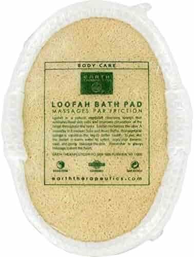 Earth Therapeutics Loofah Waffle Puff Sponge Loofah Bath Pad 1 Loofah