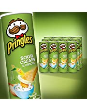 Pringles Sour Cream & Onion, 12 Pack (12 x 134g)
