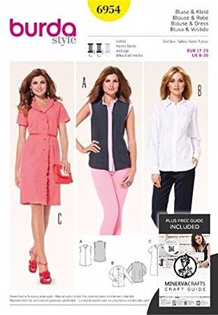 Burda Schnittmuster / Nähmuster für Frauenkleidung 7321 Jacken ...