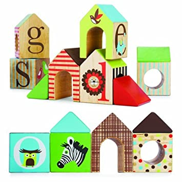 skip hop alphabet zoo abc house blocks plaything amusement play rh amazon co uk abc house limited abc houses for sale
