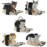 Sushi Cat Clever Idiots Inc Nekozushi Key Chain Collectible Figure Mystery Blind Box (Version 2) - 1 Random Piece