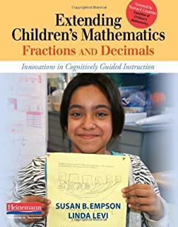Making sense teaching and learning mathematics with understanding extending childrens mathematics fractions decimals innovations in cognitively guided instruction fandeluxe Image collections