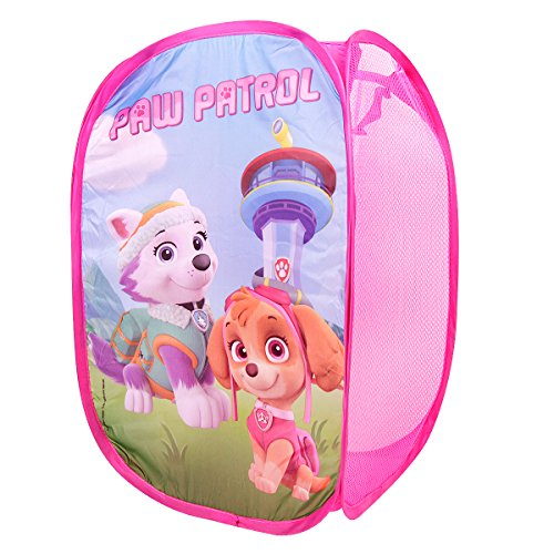 RDI Paw Patrol Pop-Up Laundry Hamper-Easy to Open and Folds Flat for Storage (Pink) by RDI
