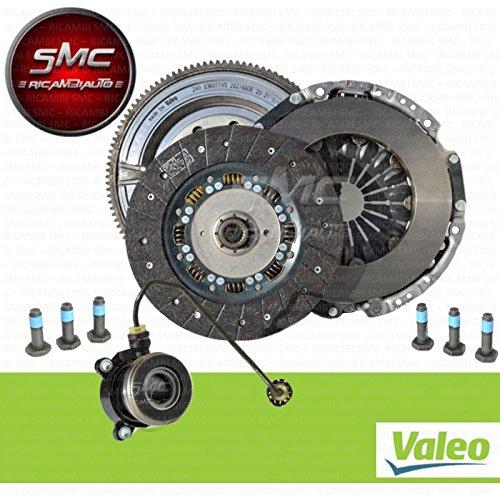 Kit Embrague 3 piezas + Volante Almohadilla reggispinta Original Valeo: Amazon.es: Coche y moto