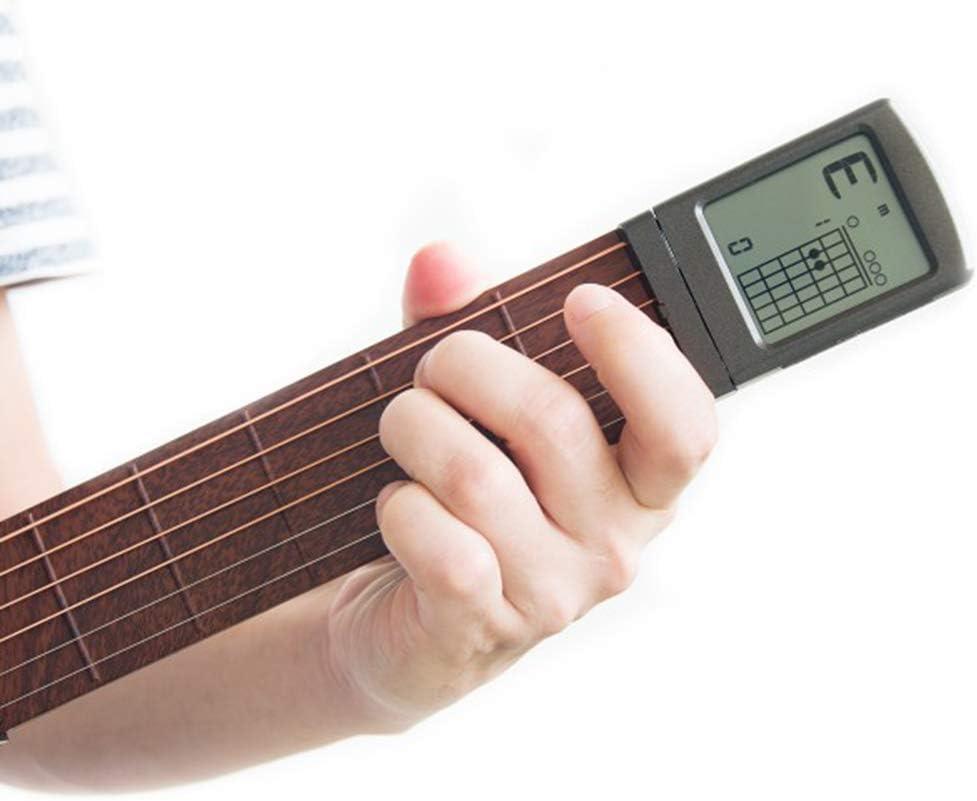 CZTY Herramientas portátil acorde de la Guitarra Trainer Pocket ...