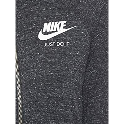 Nike Women's Sportswear Hoodie Black/Sail Size Small: Clothing
